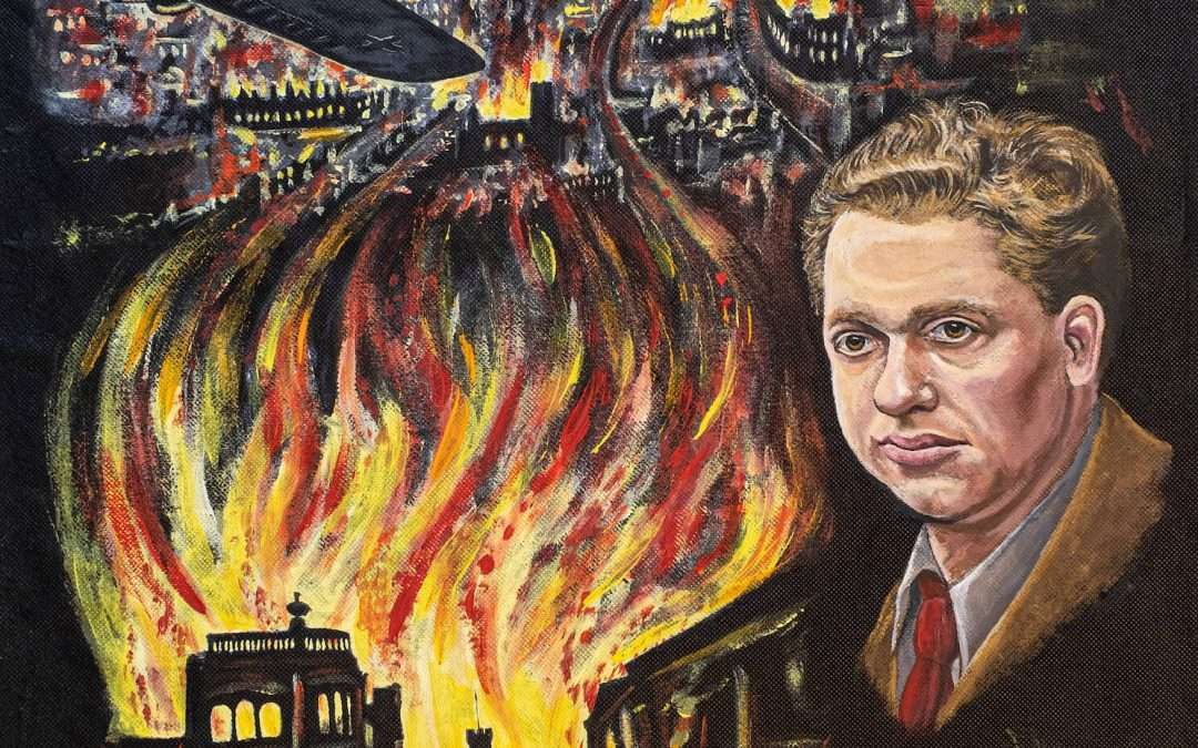 Dylan Thomas and the Blitz